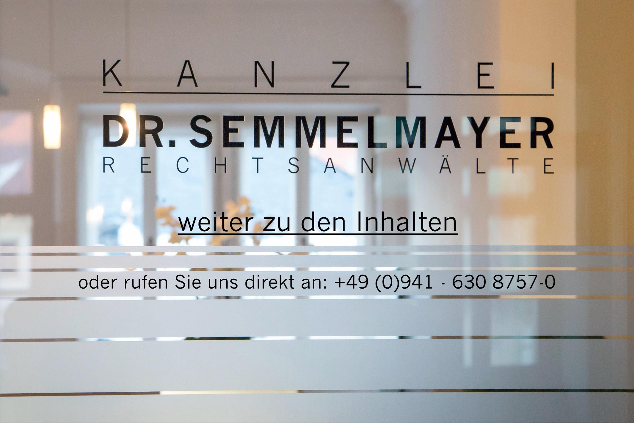 Landingpage Kanzlei Dr. Semmelmayer