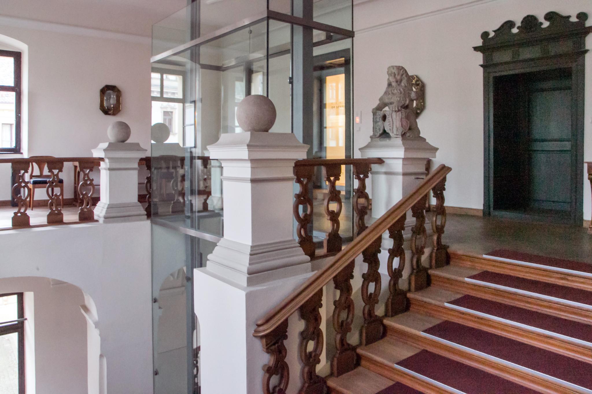 Kanzlei Treppenhaus